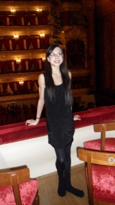 At the Bolshoi Theatre
