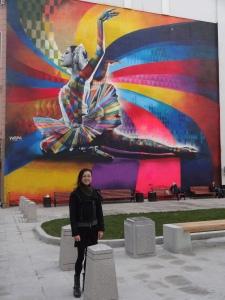 Ballet Mural