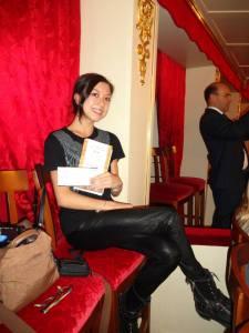At the Bolshoi Theatre watching Marco Spada