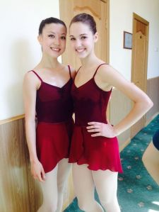 After the ballet exam!