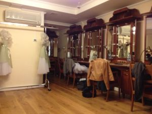 Bolshoi Theatre dressing room