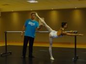 Training at BrTala Lee-Turton Bolshoi Ballet Academy