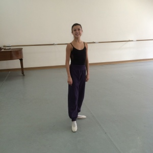 Ballet class - Russian style