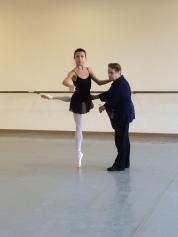 Rehearsing my ballet variation - Tala Lee-Turton Bolshoi Ballet Academy