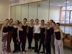 Tala Lee-Turton Bolshoi Ballet Academy modern class