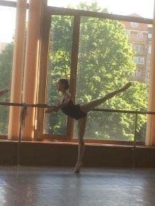 Tala Lee-Turton Bolshoi Ballet Academy - getting ready for exams