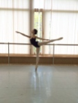 Tala Lee-Turton - in the studio at the Bolshoi Ballet Academy
