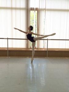 Tala Lee-Turton - in the studio at the Bolshoi Ballet Academy