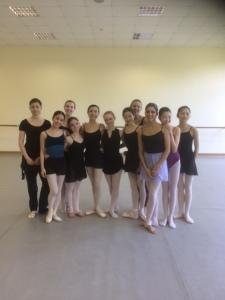 My class - Bolshoi Ballet Academy 3rd course 2015