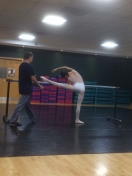 Tala Lee-Turton Bolshoi Ballet Academy - training with Yury and Chika at Bristol Russian Ballet School