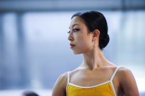 Tala Lee-Turton - Bolshoi Ballet Academy - in class at VKIBC 2015